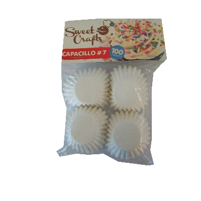 capacillos sweet crafts blanco n.7