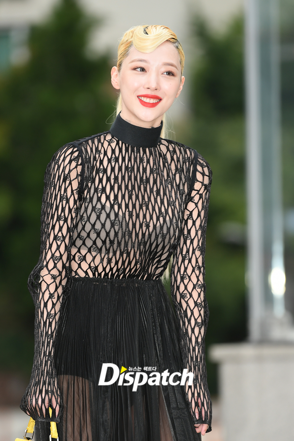 sulli seethrough dress 1