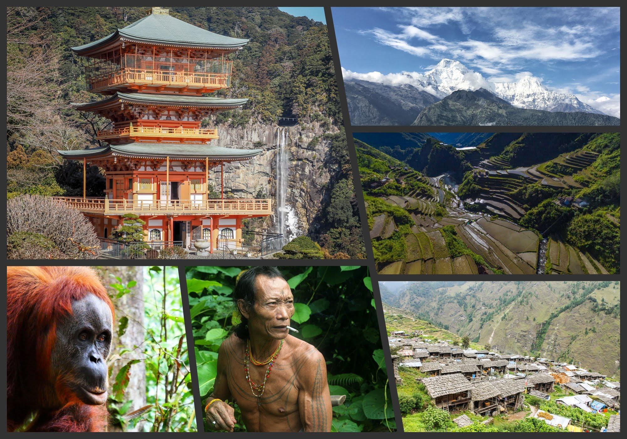 Indeed, Trekking In Asia Will Take Through The Himalayas, Deserts,