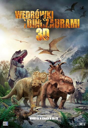 Polski plakat filmu 'Wędrówki Z Dinozaurami'
