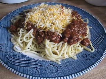 Crock Pot Cincinnati Chili Recipe