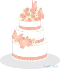 Photo: Carrie's blossom cake