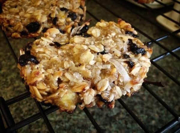 Blueberry Coconut Pecan Breakfast Cookies Recipe