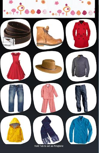 German Clothes Vocabulary