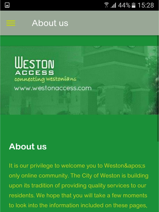 Weston Access- screenshot