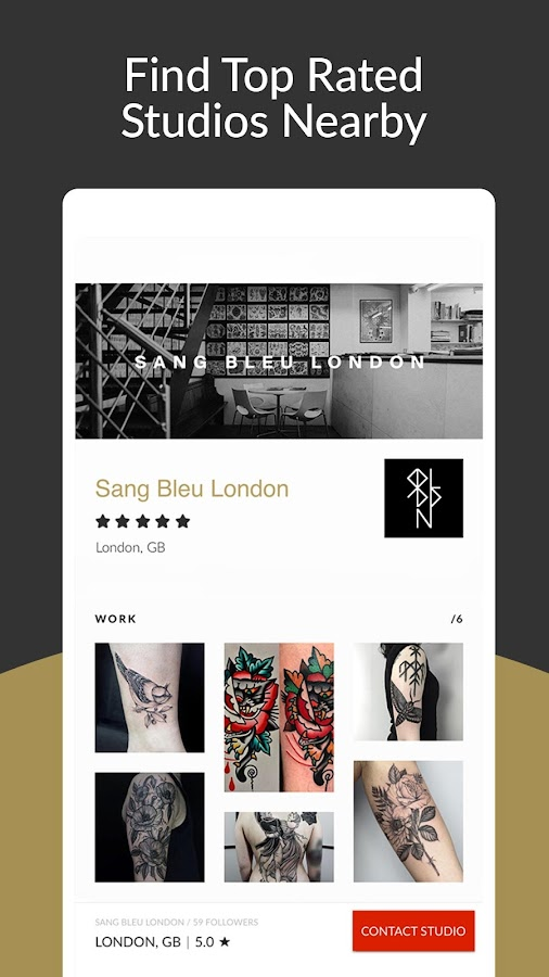 Tattoodo - Find your next tattoo- screenshot
