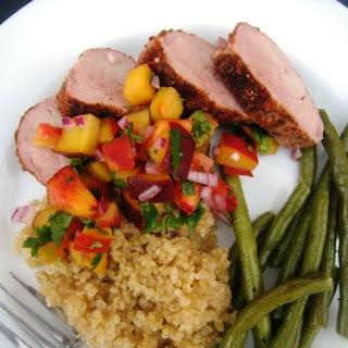Spice-Rubbed Grilled Pork Tenderloin