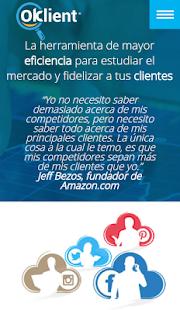 Oklient Fidelizacion 2.0 - náhled