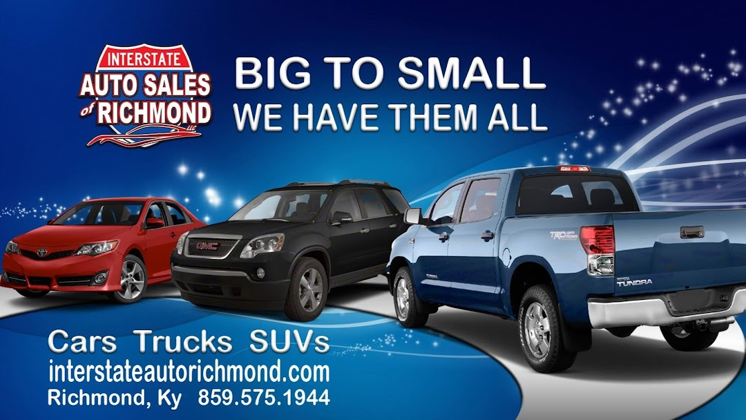 Car Dealerships In Richmond Ky >> Interstate Auto Sales Of Richmond Llc Used Car Dealer In