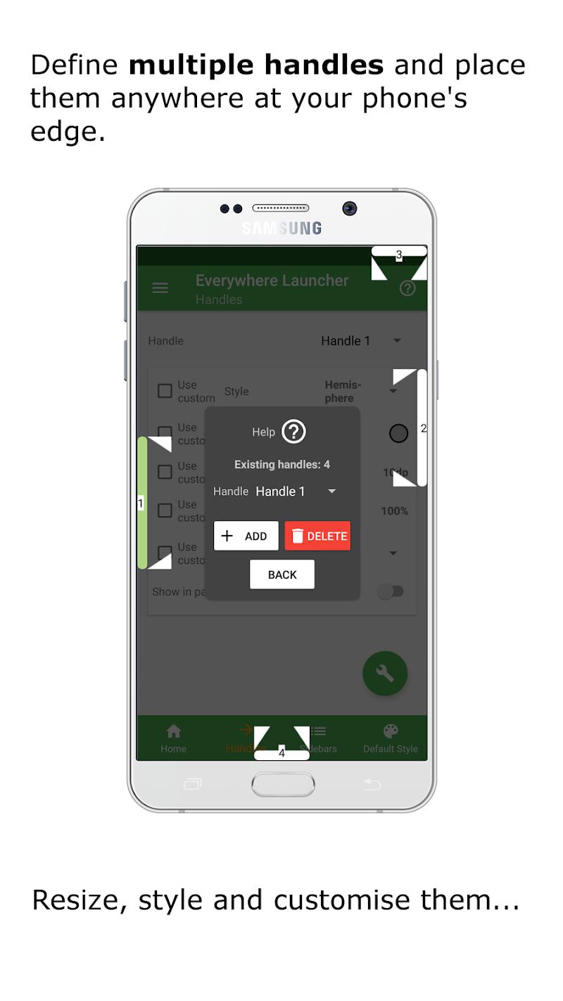 Everywhere Launcher - Sidebar Edge Launcher Screenshot 3
