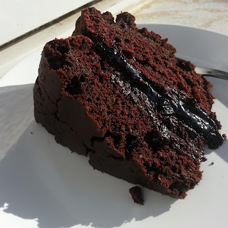 Vegan Chocolate Cake.
