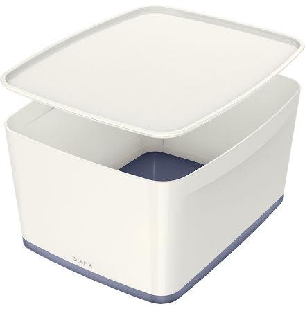 Förvarlingslåda MyBox vit/grå