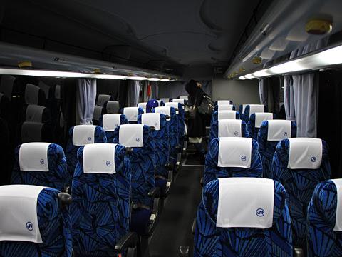 中国JRバス「広福ライナー」 2486 車内