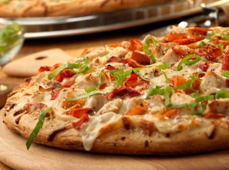 White Chicken Pizza Recipe