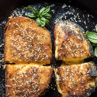 Everything Spice Grilled Cheese.