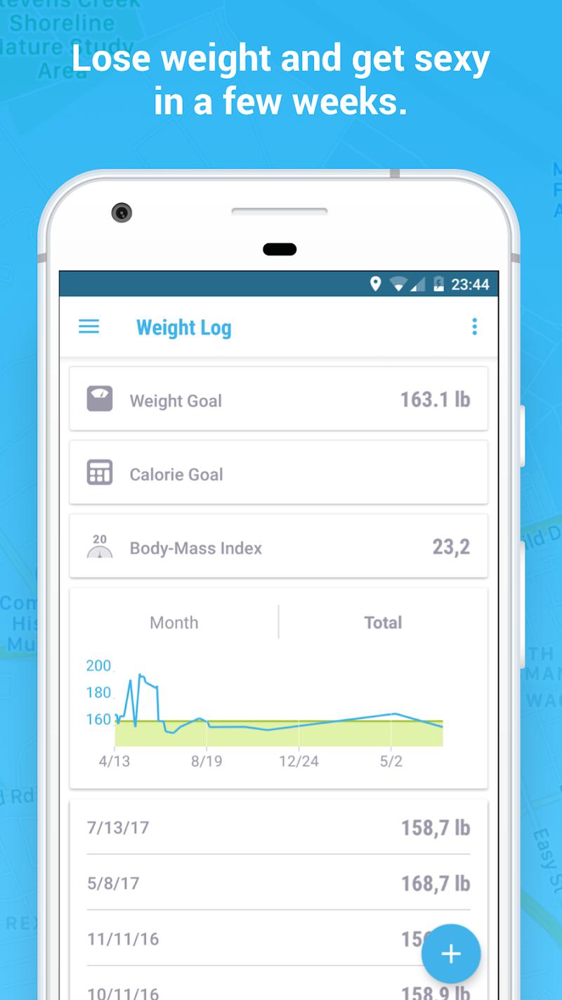 Running Walking Jogging Hiking GPS Tracker FITAPP Screenshot 5