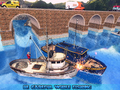 Fishing Ship Simulator 2020 : Fish Boat Game painmod.com screenshots 8
