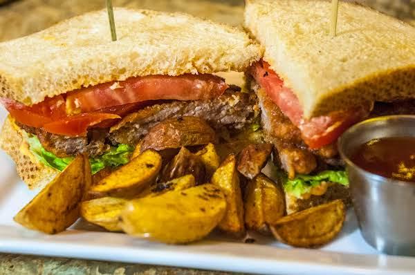 Spicy Breaded Chicken Fried Steak Sandwich Recipe
