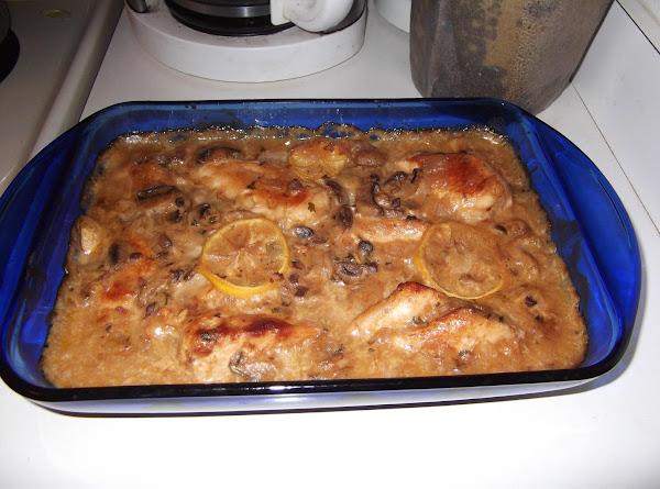 Baked Sherry Chicken Recipe