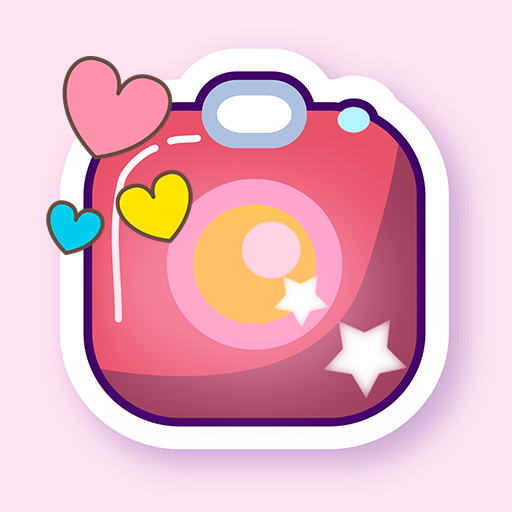 Kawaii Photo Editor: Deco Cute Stickers Filters Icon