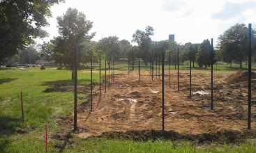 Photo: 1st Base line and bullpen area 06-26-2014