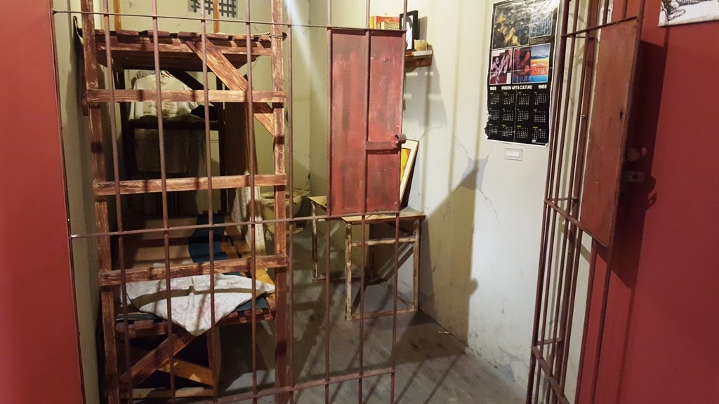 PRISON CELL REPLICA DURING MARTIAL LAW PERIOD
