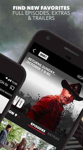 AMC: Stream TV Shows, Full Episodes & Watch Movies screenshot 1