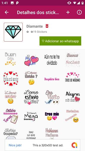 Criador de stickers e figurinhas WAStickersApps screenshot 2
