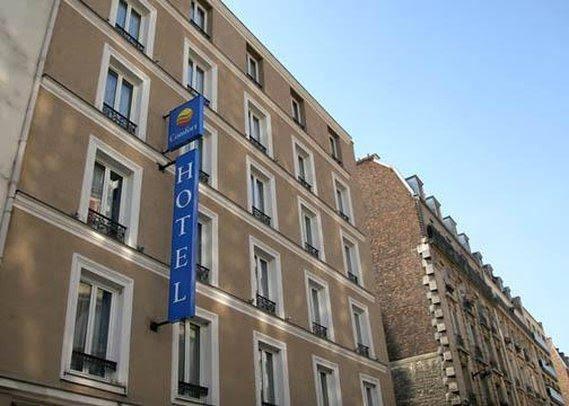 Comfort Hotel Lamarck Paris 18