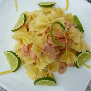 Pasta with Smoked Salmon