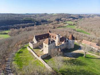 château à Saint-Clair (46)