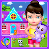 My Baby Doll House - Tea Party & Cleaning Game