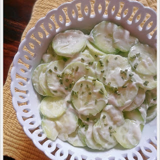 Cucumber Salad With Miracle Whip Recipes