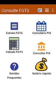 Consulta FGTS e PIS 2018 - Saldo Extrato - náhled