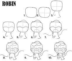 How To Draw Superhero Chibi - screenshot thumbnail 05