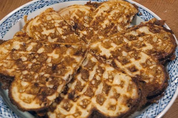 Wholesome Cheddar Waffles Recipe