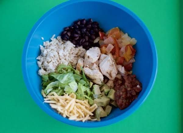 Chicken Fajita Bowl Recipe