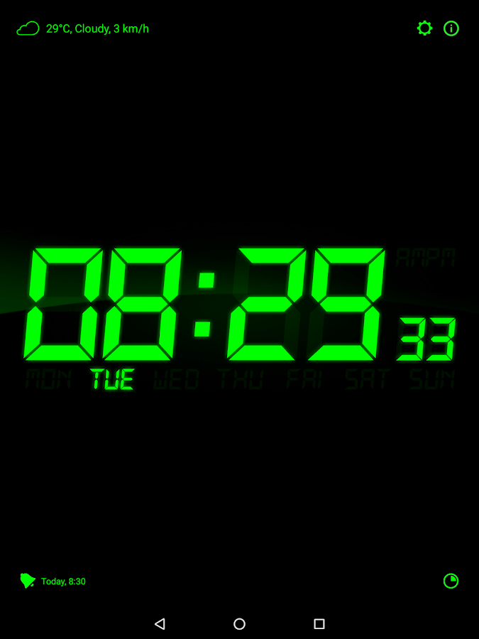 alarm clock going off at 5 30. alarm clock for me screenshot going off at 5 30