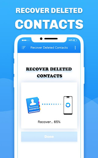 Recover Deleted All Contacts screenshots 2