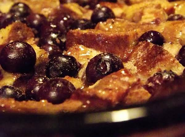 Baked Blueberry French Toast Swirl Recipe