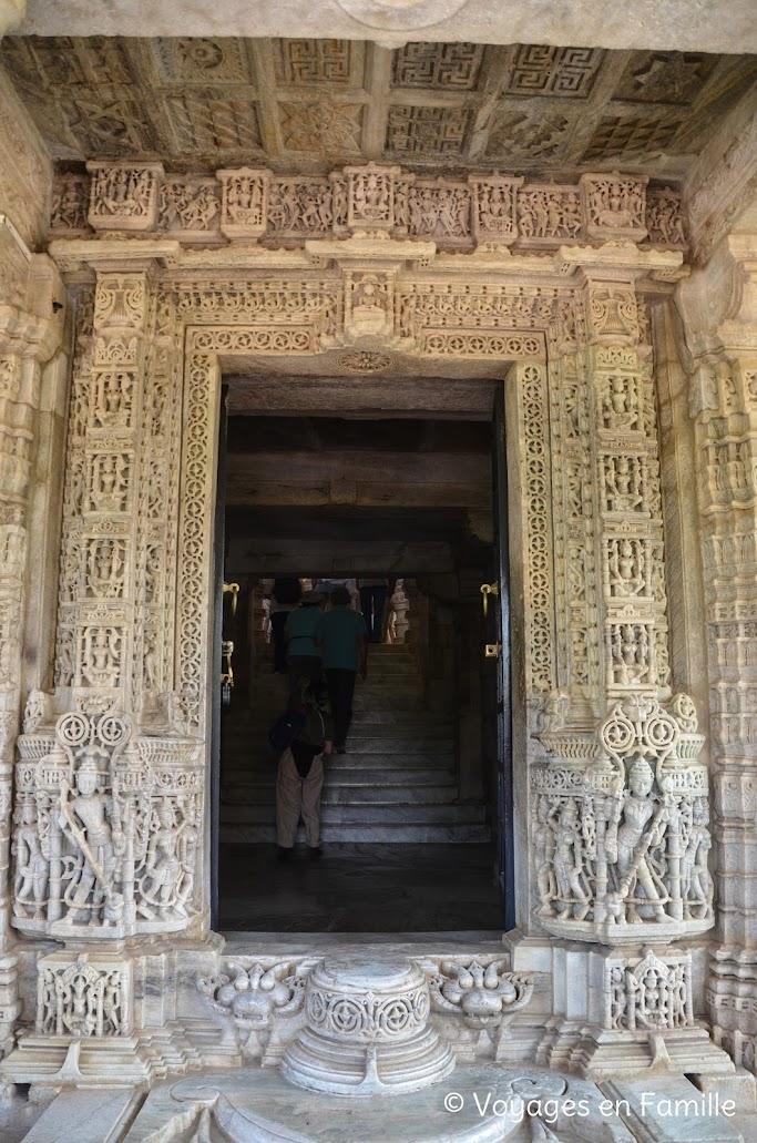 Ranakpur, porte entrée principale