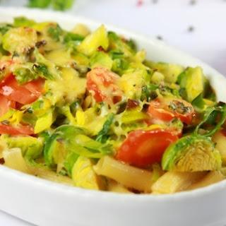 Makkaroni-Gemüse-Auflauf