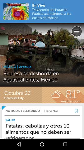 android Noticias Telemundo Screenshot 0
