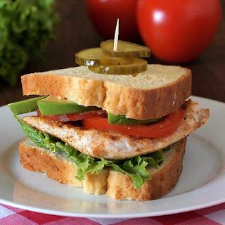 Cajun Turkey Sandwiches.