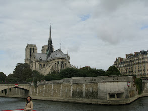 Photo: Notre Dame from the east side