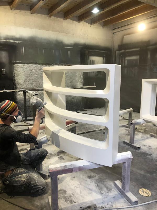 Touche pas à mon poste - 3D meubilair - piepschuim + polyurea