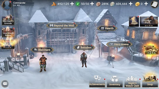 Game of Thrones Beyond the Wall Apk Mod +OBB/Data with [Unlimited Resources] 8