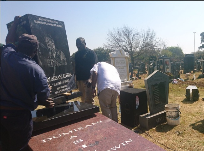 Dumi Masilela has been laid to rest.