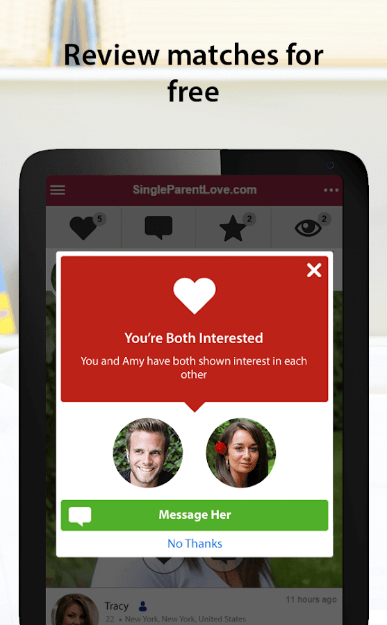 SingleParentLove - Single Parent Dating App- screenshot