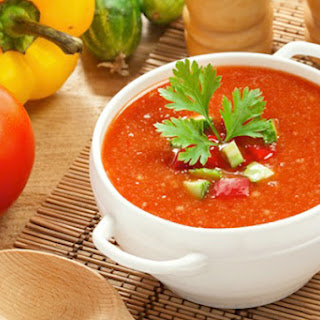 Summery Gazpacho Clean Eating